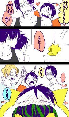 ろっか (@roccaaaa) | Twitter One Piece Ship, One Piece Ace, One Piece Luffy, One Piece Manga, Ace Sabo Luffy, One Peace, Roronoa Zoro, Diabolik Lovers, Family First
