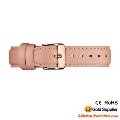 Peach Genuine leather Watches Strap 3W-S-L09, click picture to designs your own brand watch.