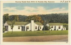 Freeway Tourist Court, R. F. D. 13, Fountain Citym Tennessee