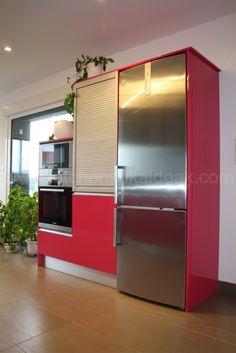 http://www.kitchensukaldeak.com/proyectos.html# integra en tu diseño electrodomesticos funcionales con un cuidado diseño estetico. #fábrica de cocinas
