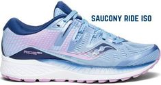saucony-ride-iso-running-shoes Neutral Running Shoes, Blue Shoes, New Shoes, Women's Shoes, Walking In High Heels, Saucony Shoes, Sneakers, Women Sandals