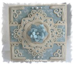Elly's Card- Corner: Spellbinders International Guestblogger Contest