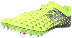 New Balance Men's MSD400 Spike Track Shoe New Balance. $89.99. Removable spikes. Manmade. Rubber sole