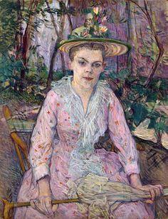 Henri de Toulouse-Lautrec - Woman with an Umbrella