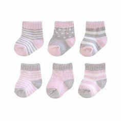Carter's 6-pk. Striped and Dot Socks - Baby