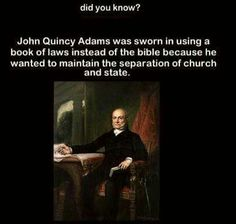 Church and state must be separated...