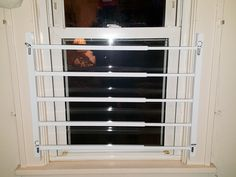 Installed Window Security Bars Grates