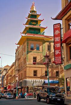 China Town, San Francisco, California