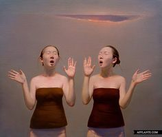 Hypnotizing Oil Paintings // Yang ShiBin | Afflante.com