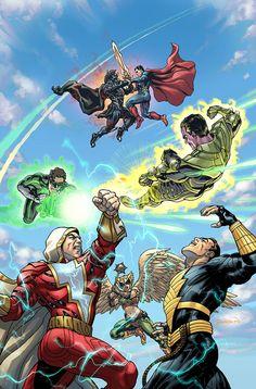 Injustice: Gods Among Us Year Five #19 - David Yardin