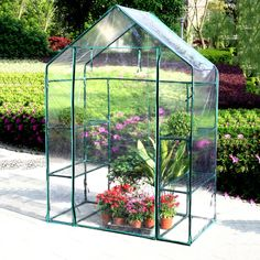 Ideal for any garden, balcony, terrace. 6m² usable area for your vegetable plants. Ideal for sowing, growing and rearing. Material: (foil) PE, galvanized steel pipes 25mm x 0.5mm. Material: (foil) PE 140g / m², galvanized steel tubes 16mm x 0,4mm.   eBay!