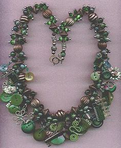 Beading Arts: Making a treasure necklace