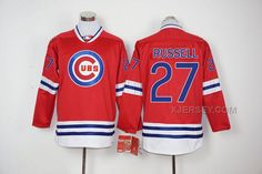 http://www.xjersey.com/cubs-27-addison-russell-red-long-sleeve-jersey.html CUBS 27 ADDISON RUSSELL RED LONG SLEEVE JERSEY Only $65.00 , Free Shipping!