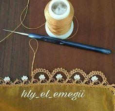 My Crochet Dream Filet Crochet, Beau Crochet, Crochet Lace Edging, Crochet Borders, Thread Crochet, Crochet Flowers, Crochet Stitches, Hexagon Crochet, Diy Crafts Crochet