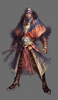 Swordsman by vega218 on deviantART