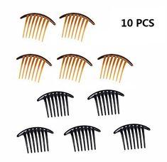 5pcs Silver Plated Hair Barrettes Hair Clips4 x 12mm Cabochon Settings