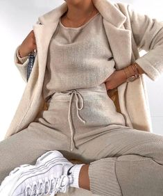 Fashion Tips For Accessories missy empire Jacky Beige Jumper Loungewear Set.Fashion Tips For Accessories missy empire Jacky Beige Jumper Loungewear Set Lounge Outfit, Lounge Wear, Set Fashion, Fashion Looks, Fashion Outfits, Fashion Ideas, 2000s Fashion, Womens Fashion, Fashion Tips