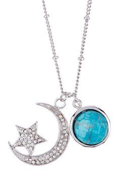 Moon & Star Necklace on HauteLook
