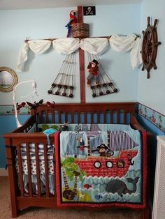 Pirate Nursery | The full set of which can be found here.