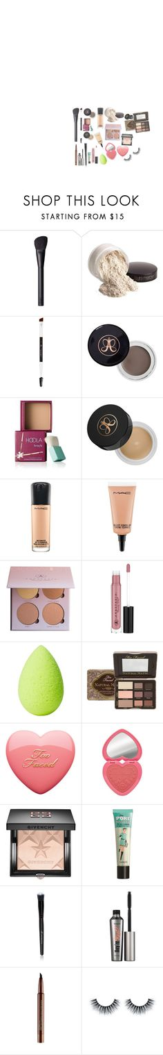 """Sin título #401"" by itsluisalopez ❤ liked on Polyvore featuring beauty, NARS Cosmetics, Laura Mercier, Anastasia Beverly Hills, Benefit, MAC Cosmetics, beautyblender, Too Faced Cosmetics, Givenchy and Smashbox"
