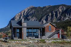 Mountain modern house in Crested Butte Colorado via Classy Bro