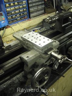 Cross slide tool/mounting plate for the Boxford