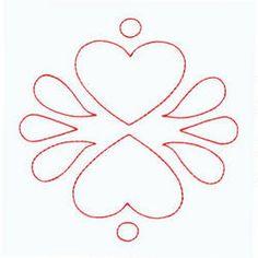 Hearts for playhouse door