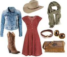 """""""Cute Cowboy Outfit:)"""" by shadowcat-368 on Polyvore"""