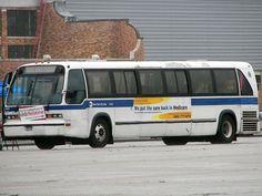 GMC RTS Bus NYC MTA