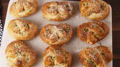 Garlic Parmesan Pretzels  - Delish.com