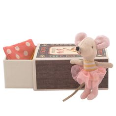 Maileg Little Sister Mouse in a Box. This is the one chOOp has, but I would like to make more.