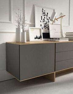 buffet moderne chêne epinal : buffets bois, buffet moderne chêne ... - Meuble Bahut Design