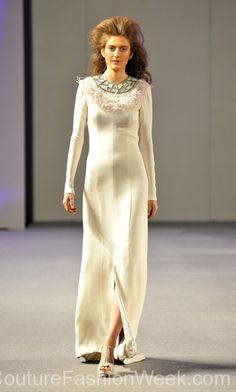 Isabel Zapardiez 꾸뛰르 패션위크 뉴욕 봄컬렉션 2013 #패션위크#패션#꾸뛰르#IsabelZapardiez#스타일#여자#모던디자이너#모델#패션쇼#뉴욕