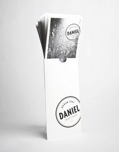 Hotel Daniel designed by Moodley #branding #identity #stationery #brochure