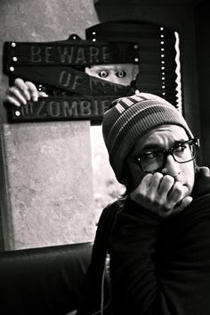 Justin Pierre   of Motion City Soundtrack & Farewell Continental fame.  And one of my favorite people in this world.