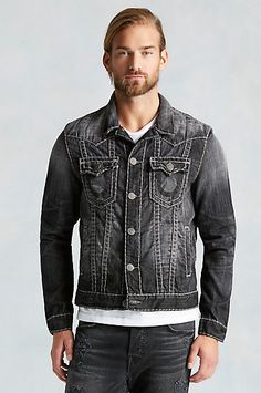 RFLKT JIMMY SUPER T MENS JACKET - True Religion