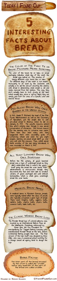 Fascinating Facts About Bread from picture the recipe
