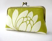 chartreuse!  the chrysanthemum clutch is great too