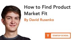 David Rusenko - How To Find Product Market Fit Don't Give Up, Giving Up, Case Study, David, Marketing, Reading, Fitness, Free, Word Reading