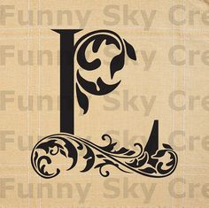 Alphabet Letter L Initial Print