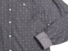 Micro Crosses LS Button Up