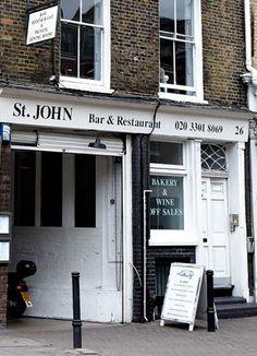 St.John Bread& Wine Londres
