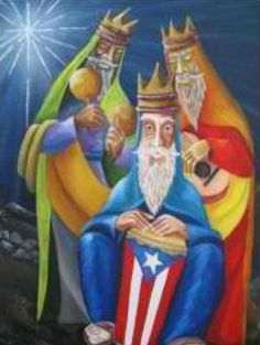 Los Tres Reyes Magos Happy Three Kings Day, We Three Kings, Taino Symbols, Three Wise Men, O Holy Night, Puerto Ricans, Easy Paintings, Diy Painting, Coloring Books