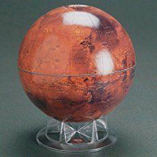 "S&T 12"" Mars Globe on Acrylic Stand"