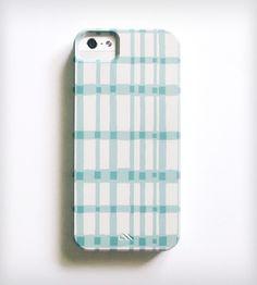 Gingham iPhone Case