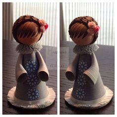 Doll #10 by Mannayah... This would be great for cake toppers!