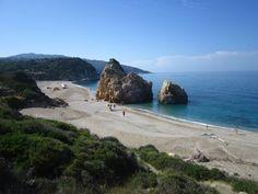 Long beach of Potistika