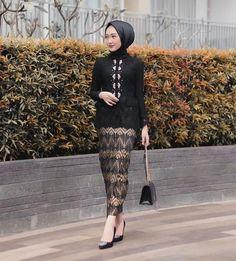 Model Rok Kebaya, Model Kebaya Muslim, Model Kebaya Brokat Modern, Kebaya Modern Hijab, Kebaya Kutu Baru Hijab, Kebaya Kutu Baru Modern, Muslim Fashion, Ethnic Fashion, Hijab Fashion