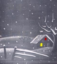 White Snow Bright Snow  written by Alvin Tresselt, illustrated by Roger Duvoisin (1947).