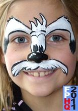 Dogs Face - face painting - SNAZAROO